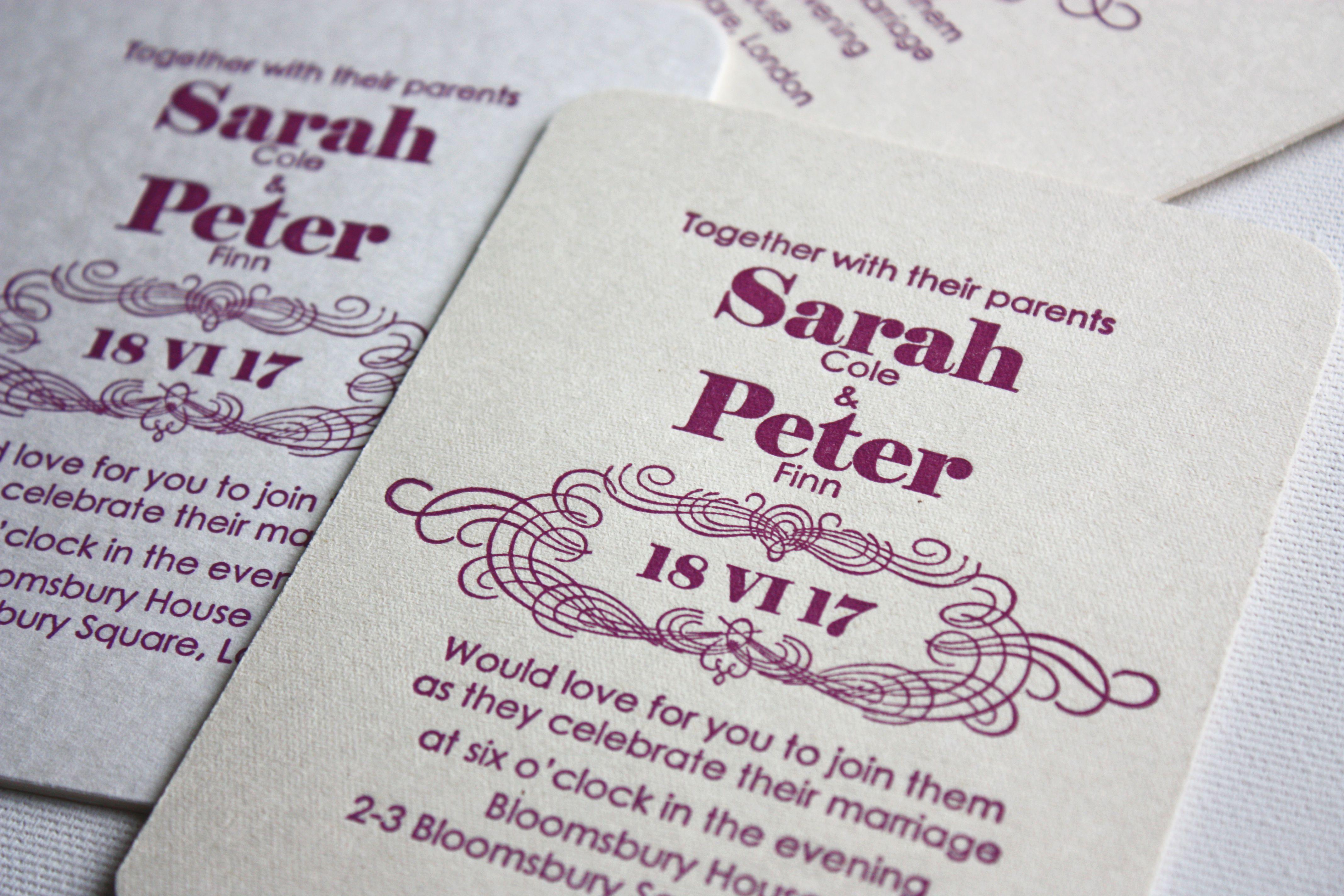 bröllopsinbjudningskort 4 kartong vit, 700 g