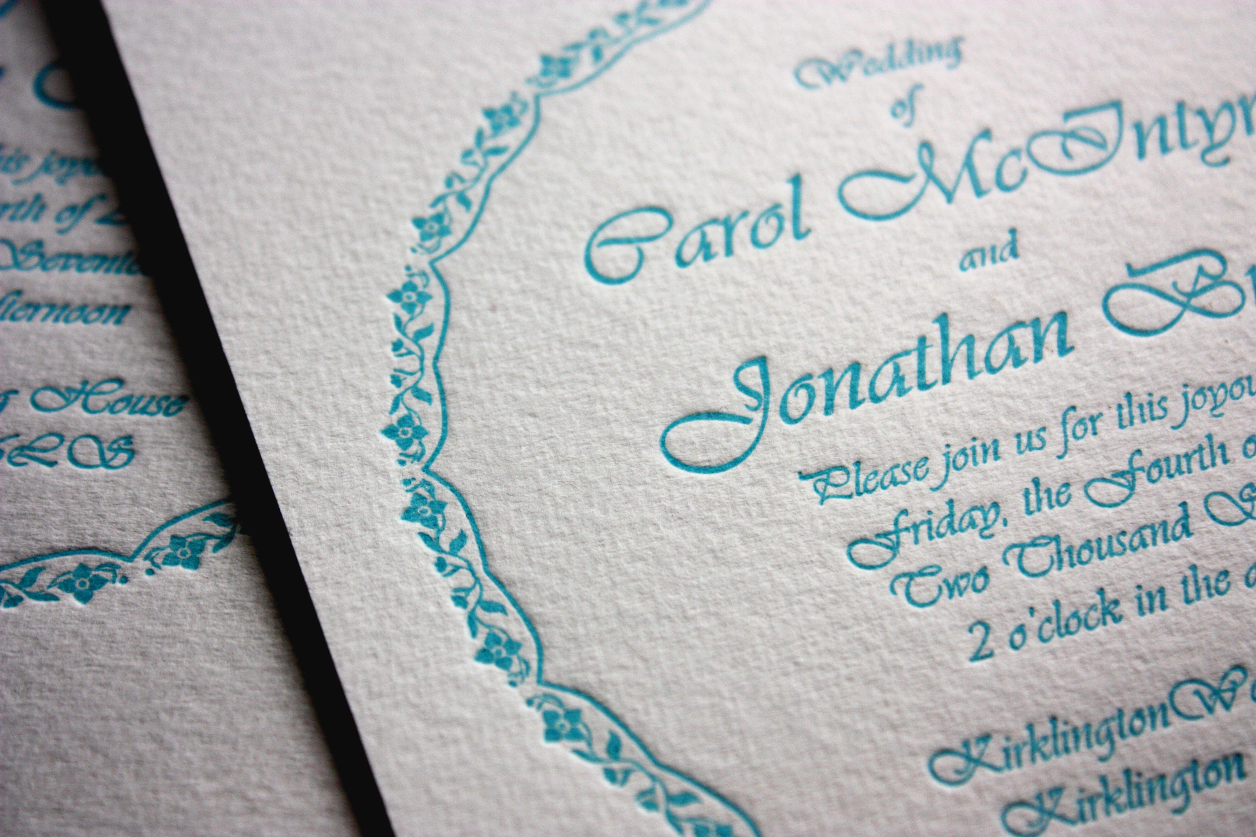 inbjudningskort papper vitt, 400 g 1 färg